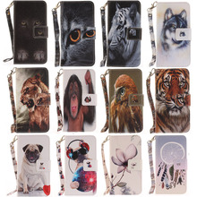 Buy Dog Leather Wallet Coque Sony Xperia XZ Case Flip Cover Sony XZ Phone Cases Soni Experia XZ Capinha Etui Hoesje for $3.98 in AliExpress store