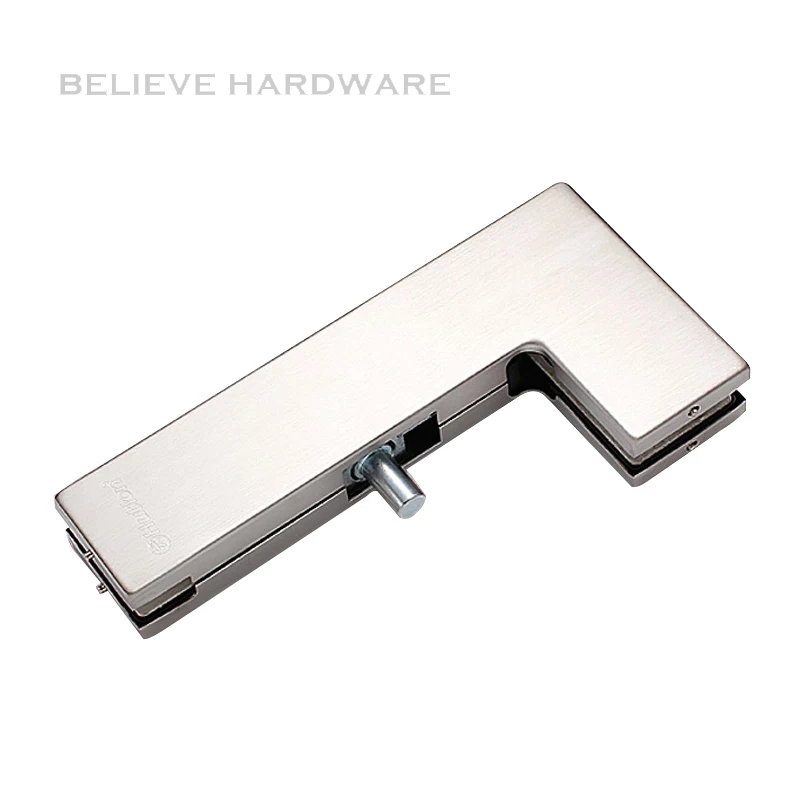 Glass Door Curve Clamp Patch Fitting For 10~12mm Thick Tempered Glass Doors Hardware HC-3140G <br>