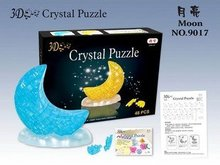 DIY adult toys, adult novelty toys, 3D Crystal Puzzle (pyramid) Educational toy,Wholesale and Retail(China)