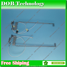 New Genuine Laptop LCD Hinges for Lenovo IdeaPad U310 Left + Right With Cable(China)