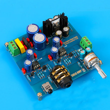 AC/DC12V-18V Audio Hifi Headphone amplifier kit base on SOLO headphone amp diy kits WITH Op amp NE5534
