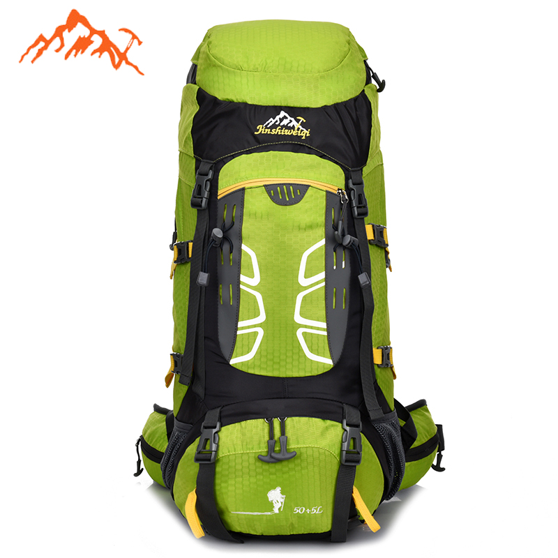 55L Outdoor Backpack Unisex Travel Multi-purpose climbing Mountaineering backpacks Hiking Rucksacks camping sports bags<br><br>Aliexpress