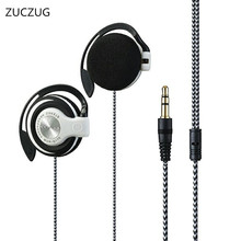 ZUCZUG NEW Q170 Headphones 3.5mm Headset EarHook bass Earphone For Mp3 Player Computer Mobile Telephone Wholesale
