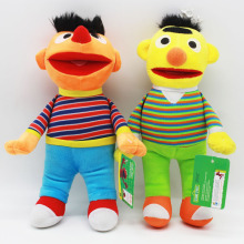Sesame Street Elmo Plush Toys 28cm Sesame Street Ernie & Bert Plush Toys Doll Soft Stuffed Animals Toys for Children Kids Gift(China)