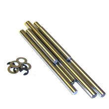HSP 81032 Suspension Arm Hinge Pins+E-Clips RC 1:8 Parts For 94081 94083 94087 94088(China)