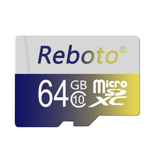 Micro SD Card 64GB Flash Microsd TFCard Real capacity 32GB 16GB 8GB 4GB Class10 Memory Card For Smartphone Tablet Pad