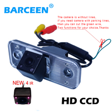 Car Rear View Backup Camera parking camera for HYUNDAI SANTA FE Santafe Sony CCD parking assistance night vision