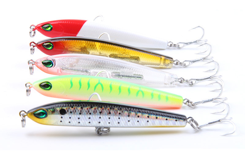 Minnow Pencil Fishing Lure Hard Bait 2