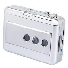 SCLS Upgraded Version Portable Cassette to MP3 Converter USB Tape to MP3 Player Music Player with Software(China)