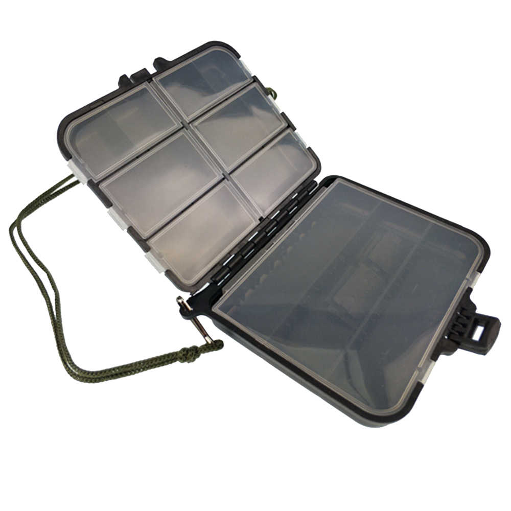 Fishing Tackle Box Waterproof Double Side Bait Lure Hooks Storage Boxes 2019 New