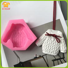 Sweater Silicone Mold Braided Texture Cake Silicone Mold Aroma Gypsum Paste Soap
