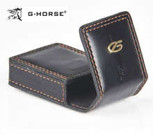 Black Leather Bag for Memorial Dupont Lighter L2 Cigarette Lighter Gift Box(China)