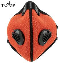 Anti-dust Half Face Masks with Filter Cycling Dust Mask Bicycle Bike Training Anti Dust Mask