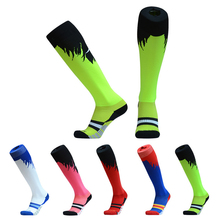 1 Pair Professional Soccer Socks Men thickening Sports Anti Slip Soccer Socks Breathable Absorbent Protect Ankle Football Socks