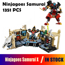 ninjago 06039 Model building kits compatible lego Ninjagoes Samurai X blocks Educational model building toys hobbies