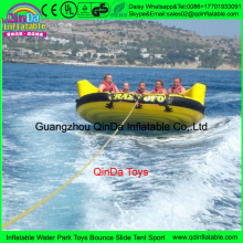 Water ski tube Flying sofa,Inflatable Water Ski Tube Crazy UFO inflatable crazy water game,Crazy UFO
