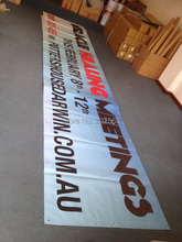 Single Sided Printed Outdoor Advertising Vinyl Banner(China)