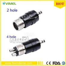 Quick Coupler/Connector/Coupling For 4/2-Hole NSK Dental High Speed Handpiece