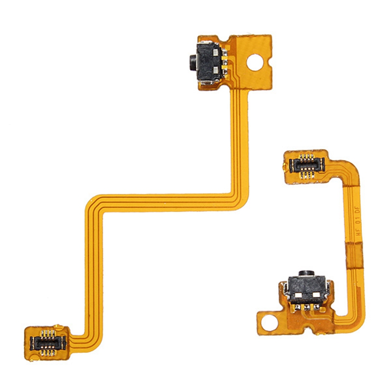 Excellent Quality Left With Right Shoulder Button Flex Cable Replacement For Nintendo For 3DS L/R Switch(China (Mainland))