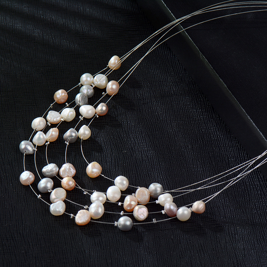 HTB1PxsuRVXXXXcFXXXXq6xXFXXXv - RAVIMOUR Simulated Pearl Jewelry Multilayer Boho Choker Necklace for Women Fashion Baroque Perlas Statement Necklaces & Pendants