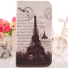 LINGWUZHE PU Leather Case Flip Wallet Design Mobile Phone Cover For Medion Life X5004 MD 99238 5