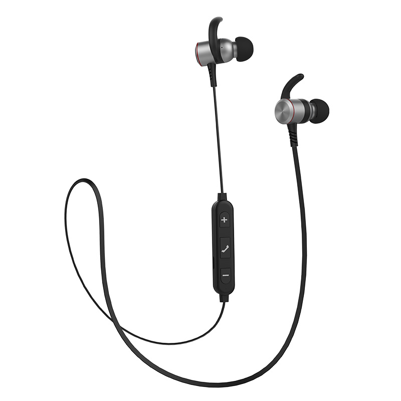 XY1805 Bluetooth 4.0 Earphones Magnetic Metal Bluetooth Neckband Stereo Noise Cancellation Wireless Earbud for Mobile Phone<br>
