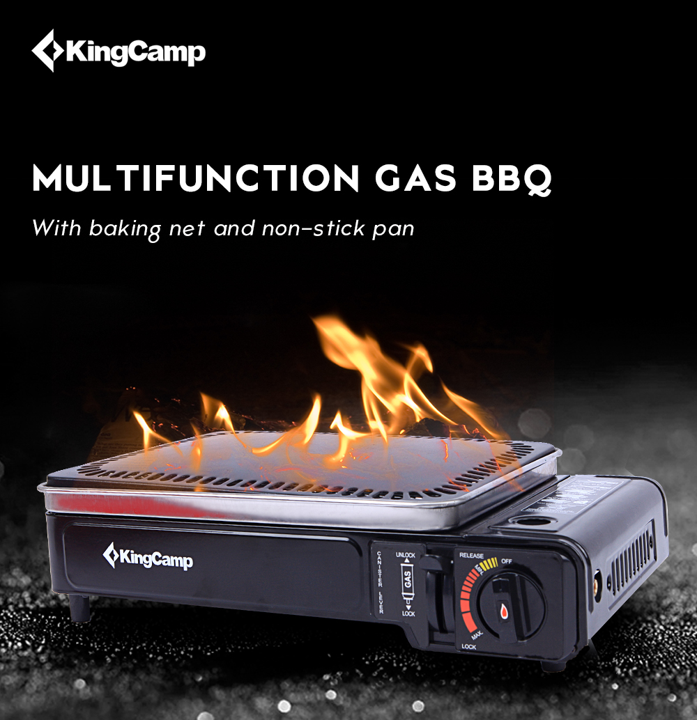 Gas Stove Portable Picnic Cooking BBQ 1