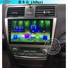 Toyota Camry 2006-2011 car dvd player Quadcore Android 6.0 car dvd player with GPS,1 G RAM,16G iNand(China)
