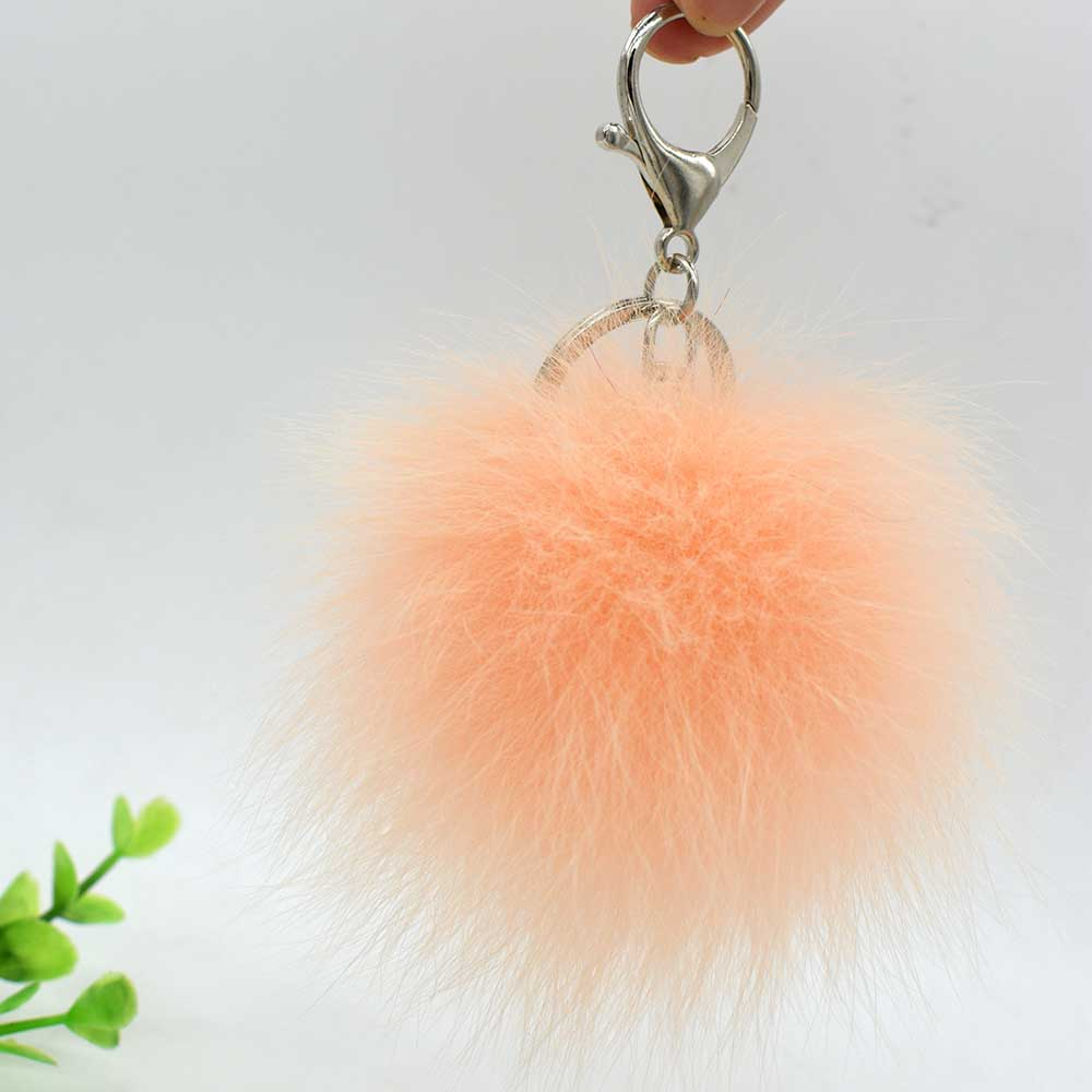 small fox fur pompom 12