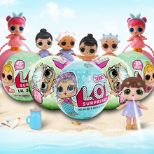 2017 New LOL Dolls Surprise Balls Baby Girls Dress Up LQL Magic Eggs Action Figure boneca lol Pets Toys for Girl Christmas Gift(China)