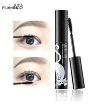Eye Makeup 8ml Mini Package Eyelash Mascara Lengthening Elastic blush head Mascara 609(China)