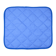 2017 1pcs Pet Mat Bed Cat Dog Kennel Cooling Pad Travel Mat for Summer Color by Random Colors Pet Products S / M / L(China)