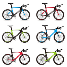 most popular carbon time trial frame tt aero road bike frame bicycle frameset with decal FM-R845(China)
