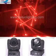 A- (2/lot)  7/16 channels 40W stage LED moving head light for disco party dj beam sharpy nightclub lights
