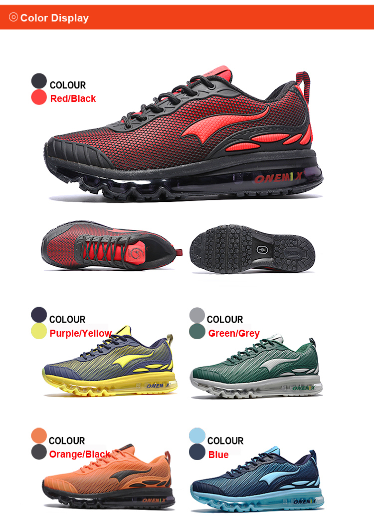 ONEMIX Breathable Mesh Running Shoes for Men Women Sneakers Comfortable Sport Shoes for Outdoor Jogging Trekking Walking 35