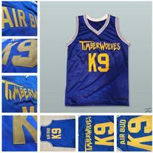 SexeMara Air Bud K9 Blue Jersey custom Any Name or Number Timberwolves  Jersey size extra Small s - 4xl