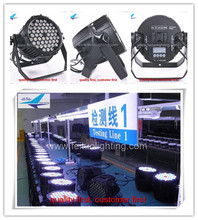 Outdoor led effect light 54*3w outdoor led par 64 ed par rgbw par led 3w