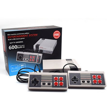 HDMI Mini TV Output Retro Classic Handheld Game Player For Nes Games with 600 Different Childhood Built-in Games For Child(China)
