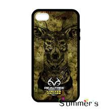 Limited Edition Realtree Deer cellphone case cover for iphone 4s 5s 5c 6s plus Samsung Galaxy S3/4/5/6/edge+ Note2/3/4/5(China)