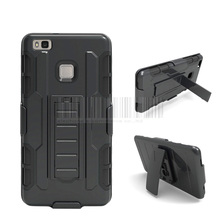 Phone Case For Huawei P9 Lite Heavy Duty Military Armor Hybird Impact Anti-shock Rugged Cover Holster+Belt Clip