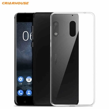 For Nokia 6 Case Nokia 5 Nokia 3 clear Gel soft tpu ultra thin For Nokia 3 5 6 8 3310 2017 phone back cover(China)