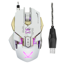 Gaming Mouse with 3200 DPI 7 Programmable Button Opto-electronic Rechargeable For Computer PC Laptop desktop(China)