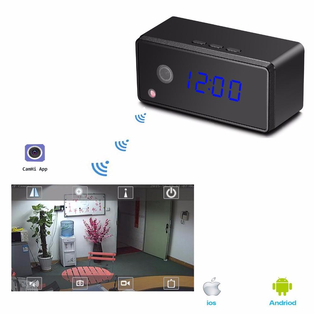 wifi mini clock camera table clock camera 3