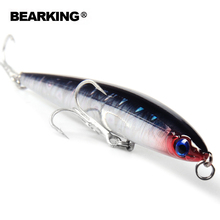 Retail 2016 good fishing lures minnow,quality professional baits 12.5cm/28g,bearking HOT MODEL penceilbait crankbait sinking
