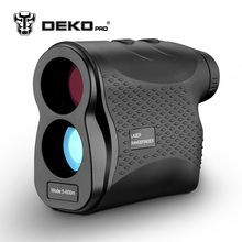 DEKOPRO laser rangefinder Golf Hunting measure Telescope Digital Monocular laser Distance Meter Speed Tester Laser Range finder(China)