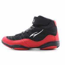 Maultby 1.0 Speed Men's Boxing Training Boot Black / Red Wrestling Shoes(China)