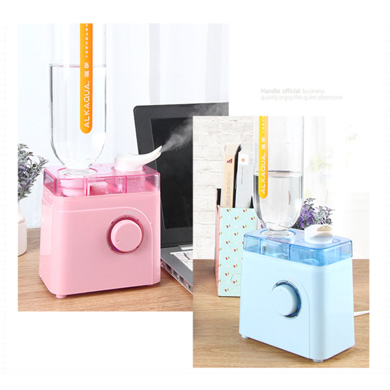 Mini Humidifier Super nano water meter humidifier tabletop portable humidifier blue pink 220V<br>