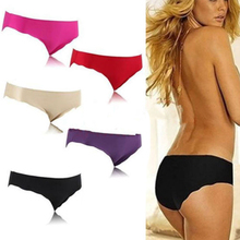 Buy Sexy Seamless Briefs Underwear Panties Underwear Knickers Lingerie Underpants Black High Quality