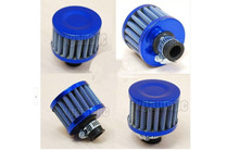 Carbon fiber, red, blue, 12 mm automotive air filter Valve Cover Vent, air intake head empty in system, free shipping