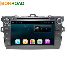 "HD8""2 Din Android 6.0 Car Video DVD Player  For Toyota Corolla Quad Core 1024 600 Radio Rds GPS Navigation bluetooth Screen Wifi"
